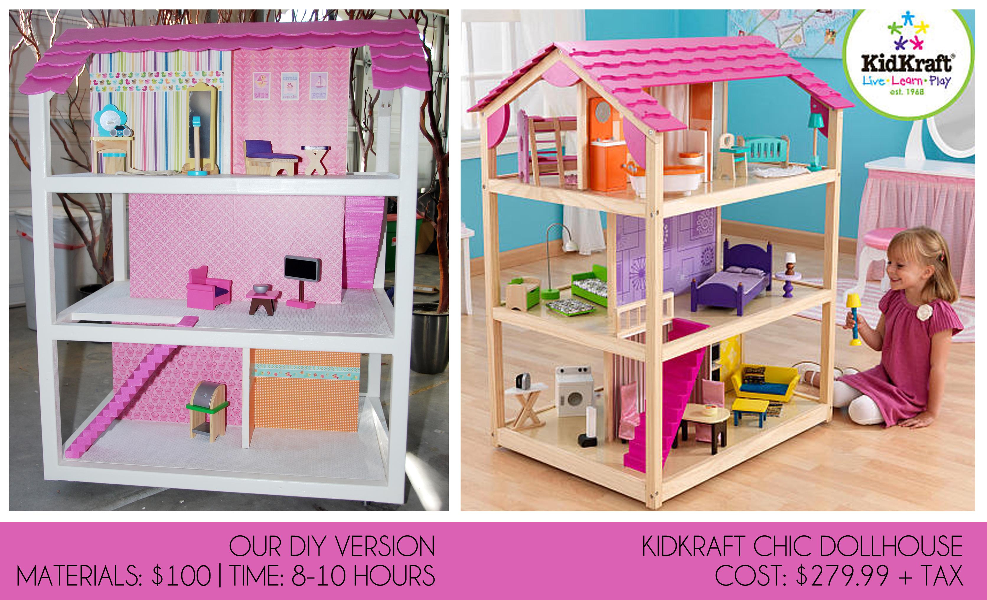 Diy Dollhouse Furniture Plans