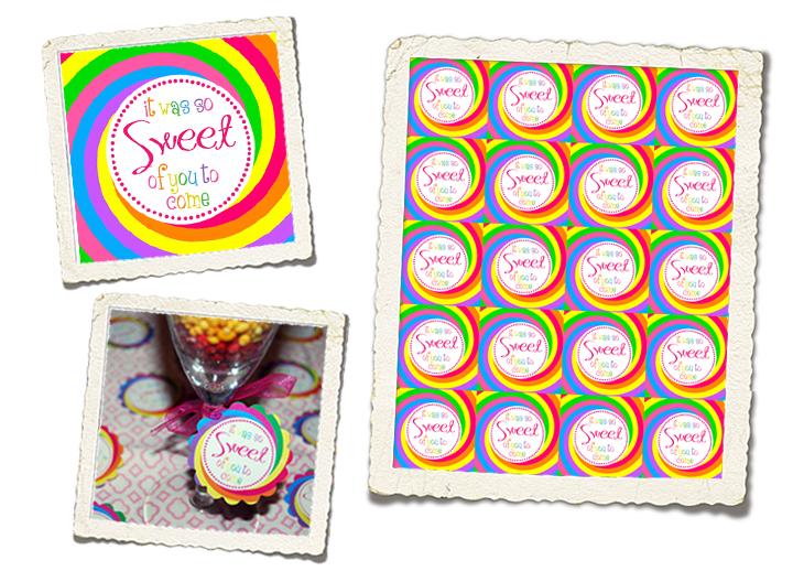 Lollipop Favor Tags PDF (bright colors with pink details)
